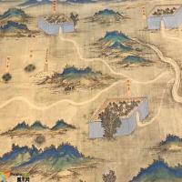 丝路山水地图,许荣茂捐赠故宫的《丝路山水地图》高清图档