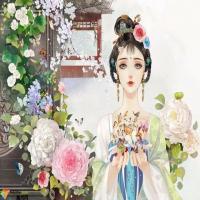长乐nina笔下的古风人物美女插画,实在实在太美了
