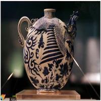 首都博物馆馆藏的元青花瓷器