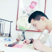 罗云成花鸟画作品欣赏-淄博青年画家