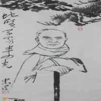 纪念井冈山会师九十周年 成忠臣毛体书风暨红色国画巡回展走进南京