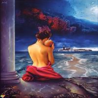 简析油画发展史用色的概况,世界顶级美女油画欣赏,一见倾心!
