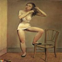100幅美女油画人体作品,是太情色了?还是我们眼神不够清澈?
