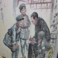 八十六岁老人刘文西,用十三年时间绘制了一幅画,堪称宗师级水平!