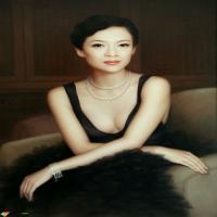 油画笔触的发展与特征,赏人体艺术油画,画中少女简直是人间极品!