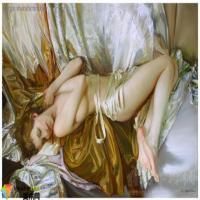 浅论中国现实主义油画的魅力,世界人体名画里轻盈妙曼的少女欣赏