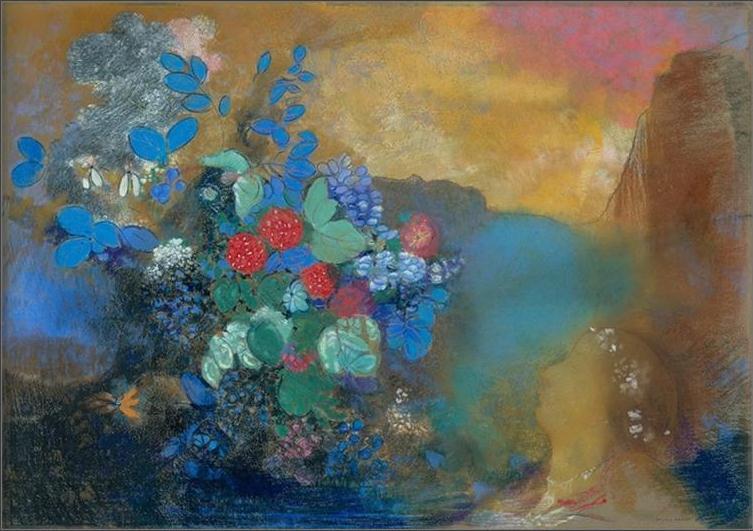 法国(象征主义画派)奥迪隆・雷东-油画展二