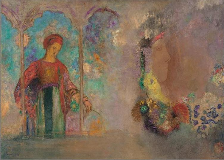 法国(象征主义画派)奥迪隆・雷东-油画展一