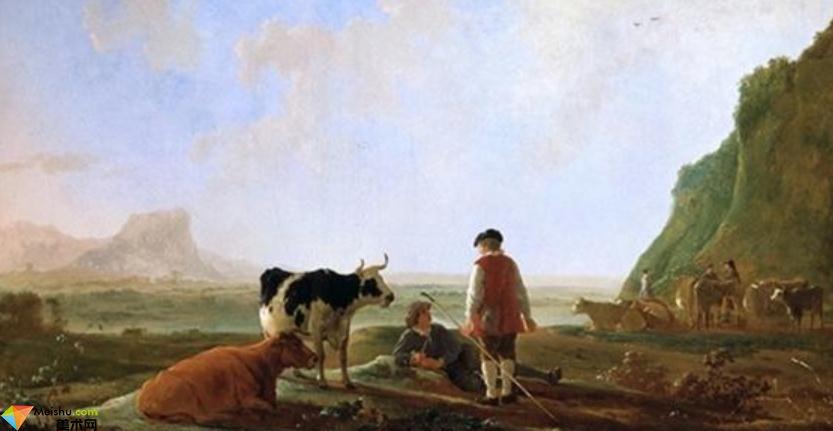 比尔施塔特Bierstadt-油画展(二)