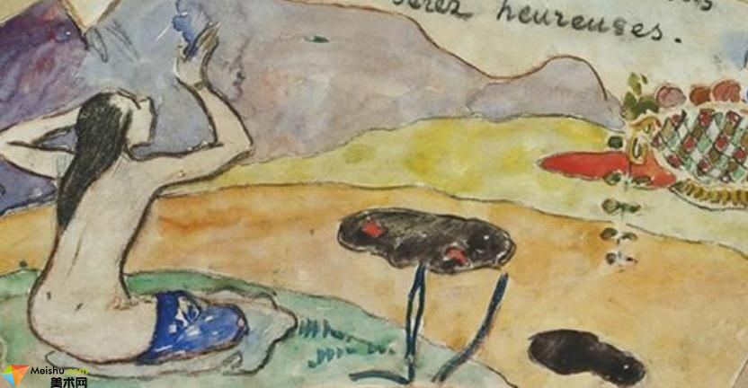 保罗·高更Paul Gauguin-作品展(一)