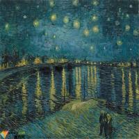 梵高的《星夜》究竟是受谁启发