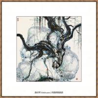 吴冠中抽象画作品图片 (55)