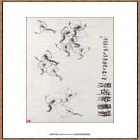 齐白石-虾-1