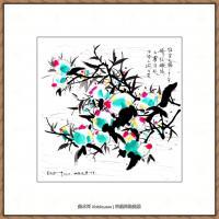 吴冠中抽象画作品图片 (7)