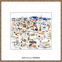 吴冠中抽象画作品图片 (11)