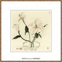 吴冠中抽象画作品图片 (15)