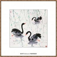 吴冠中抽象画作品图片 (51)