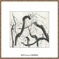 吴冠中抽象画作品图片 (63)