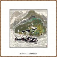 吴冠中抽象画作品图片 (58)