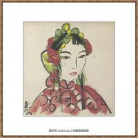 林风眠绘画作品集 (51)