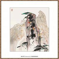 吴冠中抽象画作品图片 (62)