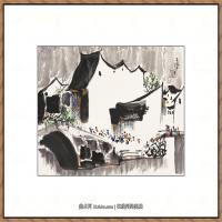 吴冠中抽象画作品图片 (16)