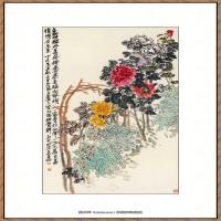 吴昌硕-天竹水仙图纸本