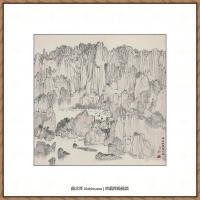 吴冠中抽象画作品图片 (48)