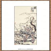 吴昌硕-紫绶图纸本
