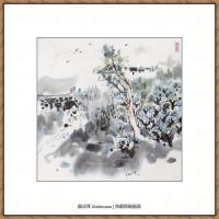 吴冠中抽象画作品图片 (49)