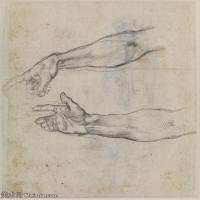 【印刷级】SMR18144431-米开朗基罗博那罗蒂Michelangelo Buonarroti意大利文艺复兴时期画家素描手稿底稿高清图片-74M-4832X5394