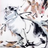 近代画家黄胄水墨人物画集(一)