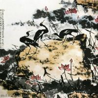 现代书画家李苦禅高清水墨作品集(二)