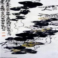 近现代中国绘画大师齐白石水墨画集(一)