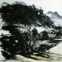 近代画家黄宾虹山水画集(二)
