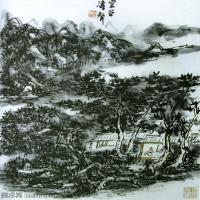 近代画家黄宾虹山水画集(一)