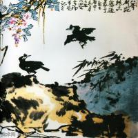 现代书画家李苦禅高清水墨作品集(一)