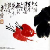 近现代中国绘画大师齐白石水墨画集(二)