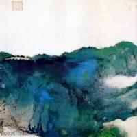 中国著名画家张大千水墨作品集(二)