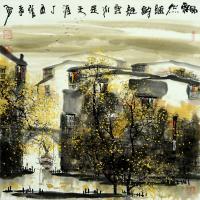 中国著名画家张孝勇—山水如画 栩栩如生