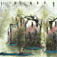 中国水墨画家张孝勇作品赏析(四)