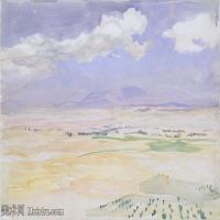 【打印级】SCR190845086-约翰萨金特John Singer Sargent美国肖像画家水彩画家绘画作品集萨金特水彩作品