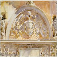 【打印级】SCR190845082-约翰萨金特John Singer Sargent美国肖像画家水彩画家绘画作品集萨金特水彩作品
