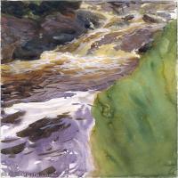 【打印级】SCR190845087-约翰萨金特John Singer Sargent美国肖像画家水彩画家绘画作品集萨金特水彩作品