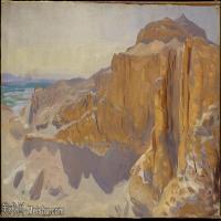 【打印级】SCR190845068-约翰萨金特John Singer Sargent美国肖像画家水彩画家绘画作品集萨金特水彩作品