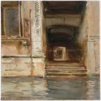 【打印级】SCR190845074-约翰萨金特John Singer Sargent美国肖像画家水彩画家绘画作品集萨金特水彩作品