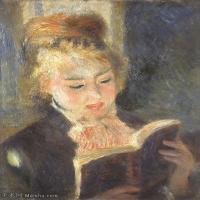 【超顶级】YHR191548466-皮埃尔奥古斯特雷诺阿Pierre Auguste Renoir法国印象派重要画家雷诺阿印象派油画作品集 LaLiseuse-190M-6350X7854