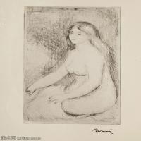 【打印级】SMR19154653-皮埃尔奥古斯特雷诺阿Pierre Auguste Renoir法国印象派重要画家雷诺阿印象派素描作品集VOLLARD, AUGUSTELA VIE & L'OEUV