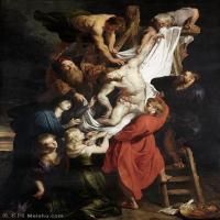 【超顶级】YHR191105718-彼得保罗鲁本斯Peter Paul Rubens德国巴洛克画派画家古典油画人物高清图片宗教油画高清大图-102M-5036X7087
