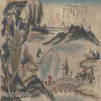 【超顶级】MSH1044民俗画杨柳青年画山水风景人物图片-102M-6888X3806_1535906
